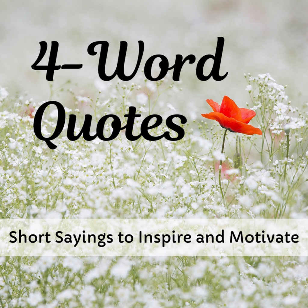 inspirational short quotes about life